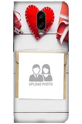 3D - Oneplus 6T Decent Handmade Heart Mobile Cover