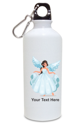 Princess with Wing Kids White Color Sipper