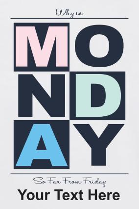 Monday Trendy  Round Neck Dri-fit White T-shirt
