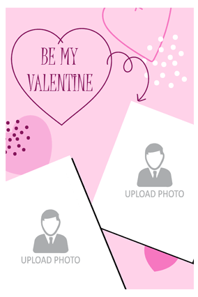 Me My Valentine Poster