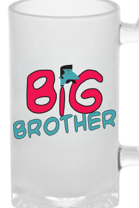 Big Brother Frosted Beer Mug
