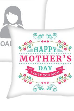 Love You Mom Cushion Cover