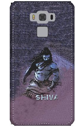 3D - Asus Zenfone 3 Max ZC553KL Shiv Ji Mobile Cover