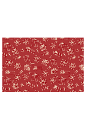 Abstract Gift Boxes Wrapping Paper