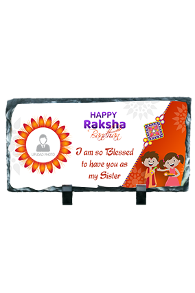 Great To Have You Sister Personalized Rectangular Photo Rock