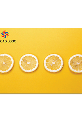 Customised Citrus Orange Table Mat