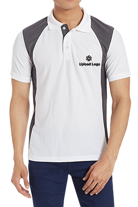 Customize Upload Logo White Dezire Polo T-Shirt - 82745705