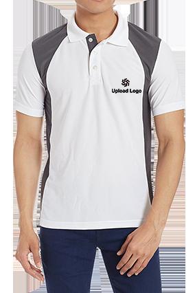 Customize Upload Logo White Dezire Polo T-Shirt - 82745705