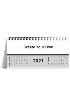 Create Your Own Desk Photo Calendar(8.2 x 3.7 Inches) - 6 Leaves