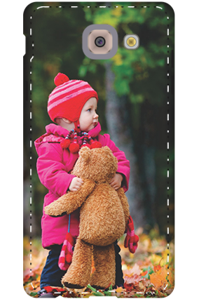 Premium 3D-Toddler With Teddy Cover For Samsung Galaxy J7 Max