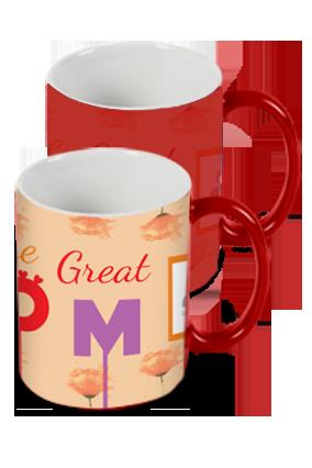Great Mom Red Magic Mug