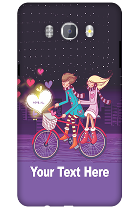 3D-Samsung Galaxy J7 New Edition 2016 Ride Valentine's Day Mobile Cover
