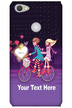 3D-Xiaomi Redmi Y1 Ride Valentine's Day Mobile Cover