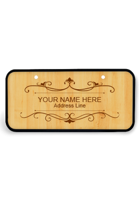 Nameplates - Buy Personalized Name Plates Online in India | PrintLand