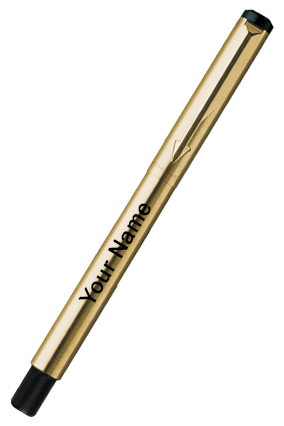 Parker-Vector Gold Fp F With Gold Nib (A) 9000014375 Gold Fountain Pen