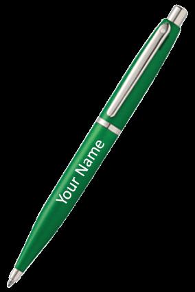 Sheaffer Very Green Featuring Nickel Plate Trim 9417 Bp Pen
