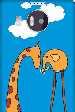 Amazing Microsoft Lumia 950 XL tooned Art Mobile Cover