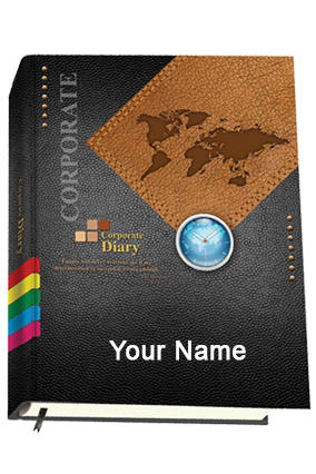 Personalised Chief Diary 9008