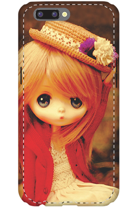 3D- Oppo R11 Doll Mobile Cover