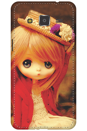 3D - Samsung Galaxy J2 Doll Mobile Cover