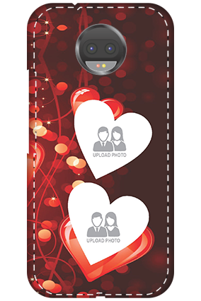 3D - Motorola Moto G5s Plus True Love Valentine's Day Mobile Cover