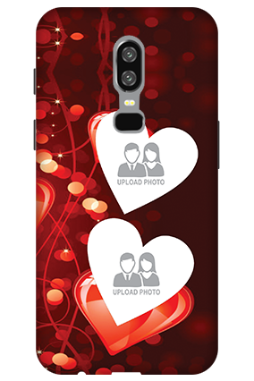 3D-OnePlus 6 True Love Valentine's Day Mobile Cover