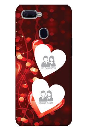 Amazing 3D-Oppo F9 True Love Valentine'S Day Mobile Cover