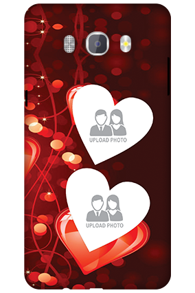 Amazing 3D-Samsung Galaxy J7 New Edition 2016 True Love Valentine's Day Mobile Cover