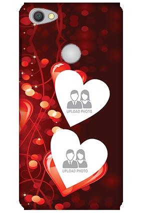 Personalized 3D-Xiaomi Redmi Y1 True Love Valentine's Day Mobile Cover