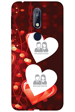 3D Nokia 7.1 True Love Valentine's Day Mobile Covers