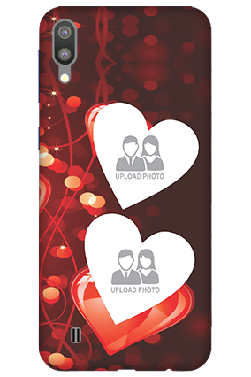 3D-Samsung Galaxy M10 True Love Valentine's Day Mobile Covers