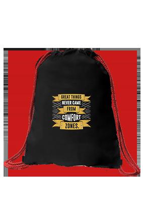 Great Things Black Sack Bag