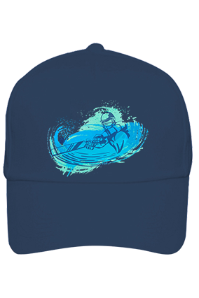 Cricket Fever Customized Cotton Blue Cap