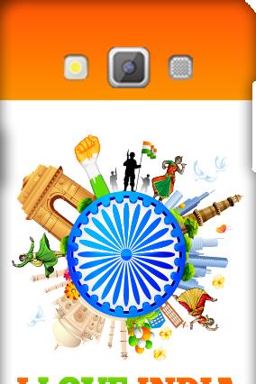 I Love India Samsung Galaxy A5 2015  Mobile Cover