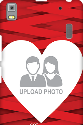 Lenovo A7000 Big Heart Valentine's Day Mobile Cover
