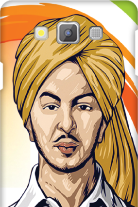 Legend Bhagat Singh Samsung Galaxy A7  Mobile Cover