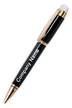 Accura Black With Gold Pen