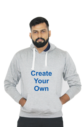 Create Your Own Hoodie (Gray)