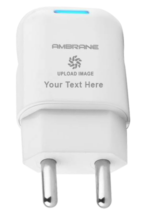 Ambrane AWC-12 1A Fast Charger with Charge & Sync USB Cable (White)