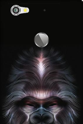 Silicon - Letv Le 1S Beard Mobile Cover