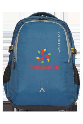 Aristocrat Grid 2 34 L Laptop Backpack (Blue)