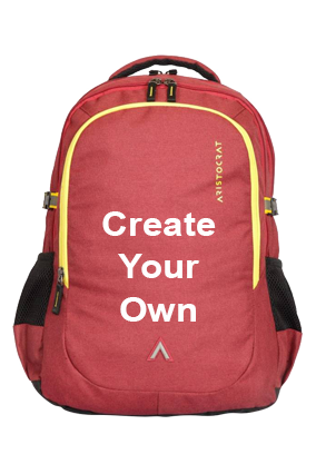 Create Your Own Aristocrat Grid 1 34 L Laptop Backpack(Maroon)