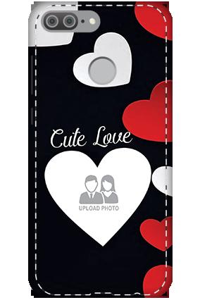 3D - Huawei Honor 9 Lite Cute Love Mobile Cover