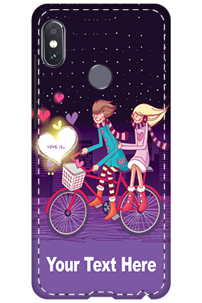 3D - Xiaomi Redmi Note 5 Pro Love's First Ride Mobile Cover