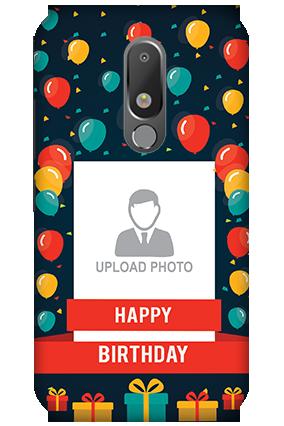 3D - Motorola Moto M Happy Birthday Mobile Cover