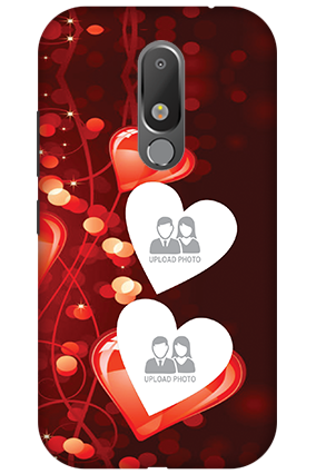 Customize 3D-Motorola Moto M Heart Beats Mobile Cover