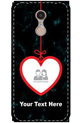 3D - Xiaomi Redmi 5 Hanging Heart Mobile Cover