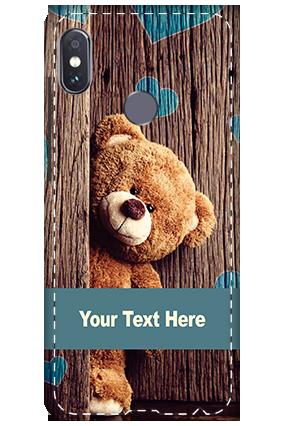Custom 3D-Xiaomi Redmi Note 5 Pro Peeking Bunny Mobile Cover
