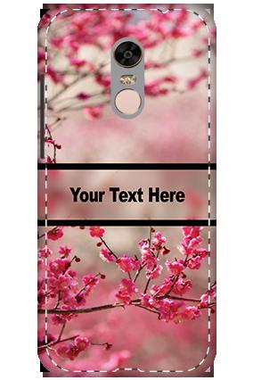 3D - Xiaomi Redmi Note 5 Autumn Flowers Mobile Cover