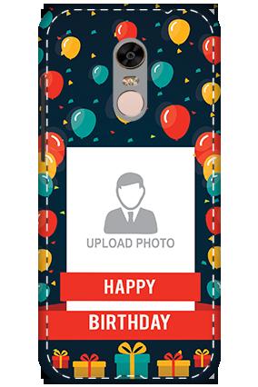 3D - Xiaomi Redmi Note 5 Happy Birthday Mobile Cover